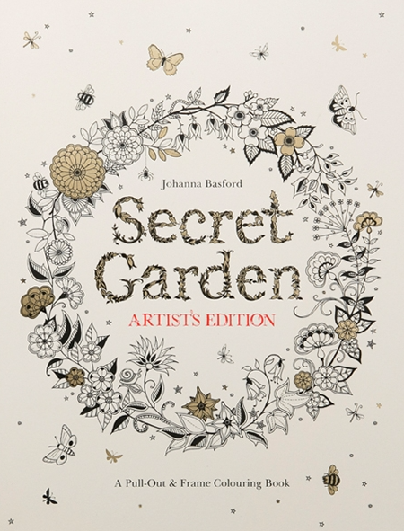Secret Garden Artist's Edition:20 Drawings to Color and Frame by Johanna Basford  $20