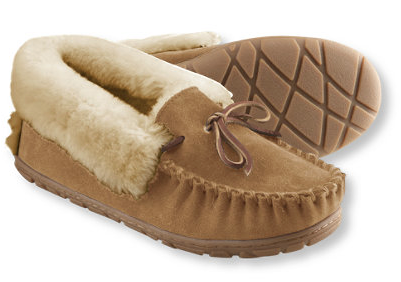 L.L. Bean  Women's Wicked Good Moccasins  $69