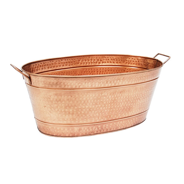 Joss & Main  Orla Copper Beverage Tub  $60