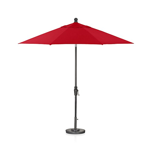 Crate & Barrel - 9-round-sunbrella-ribbon-red-patio-umbrella-with-tilt-black-frame.jpg