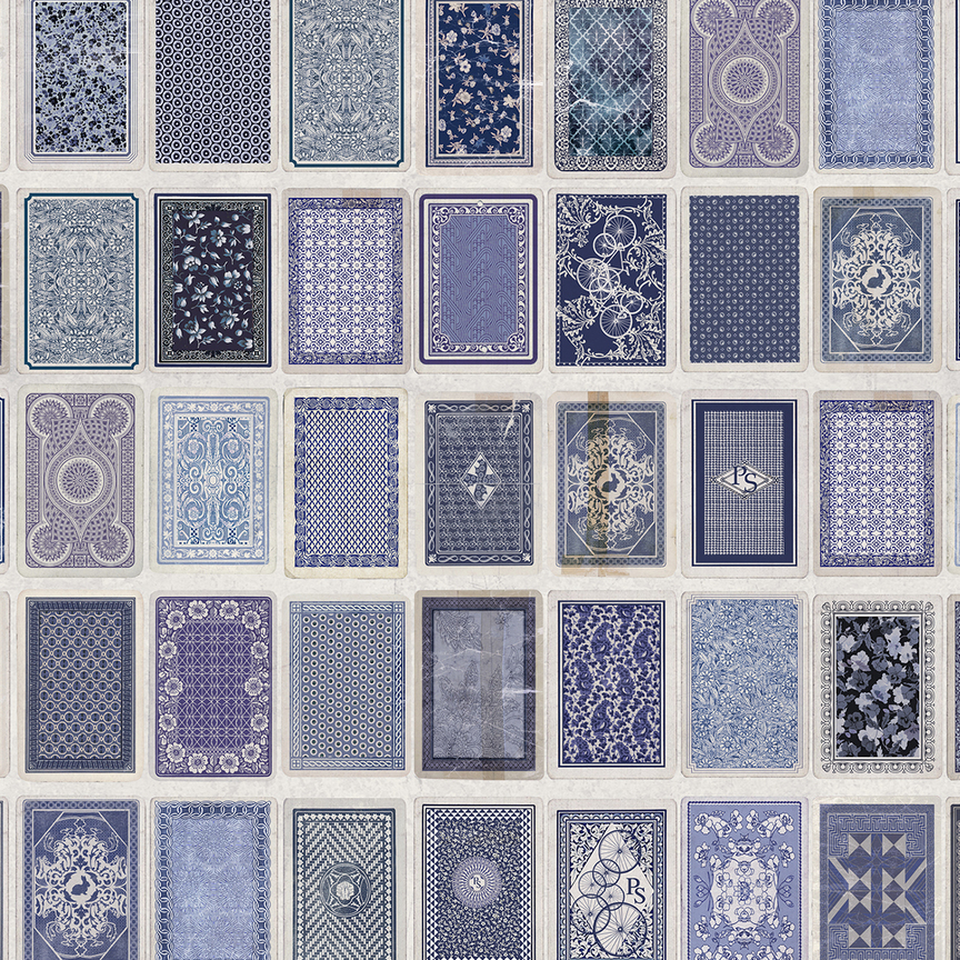 Maharam  Paul Smith Playing Cards Back  Wallcovering $125/yd (Contract; Available through your designer)