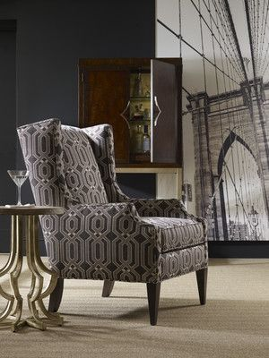 Sam Moore  Pressley Wing Chair (Available through your designer)