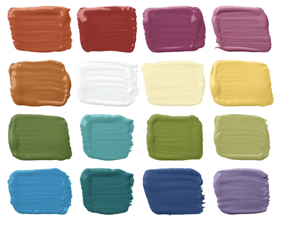 Ralph Lauren  Paint Iconic Brights (Available at  Home Depot )