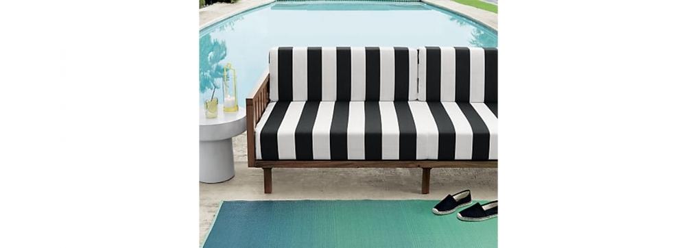 CB2 -  Tropez Sofa  $1129