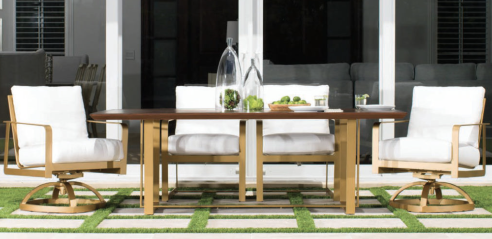 Castelle - Solaris Dining Set Available through your designer