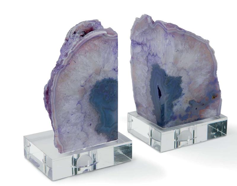 Regina Andrew -  Geode Bookends  $350
