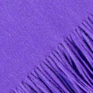 Alicia Adams Alpaca -  Solid Sassy Purple Throw  $445  Available through your designer