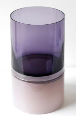 skLO -  Pair Purple Palette vase; $ 1357  Available through your designer