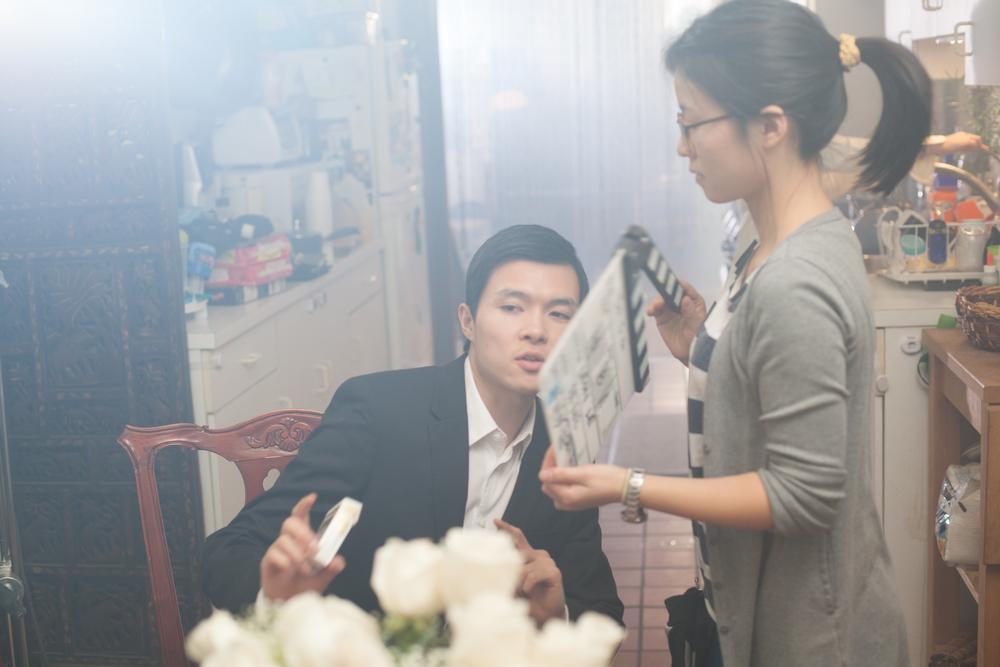 Actor Zilong Zee and AD Qinshu