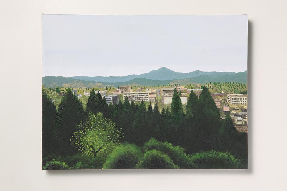 Search: Ericka // #05 // Eugene• 2009 • Óleo sobre tela •30 x 40 cm •  Coleção MAM - Museu de Arte Moderna de São Paulo