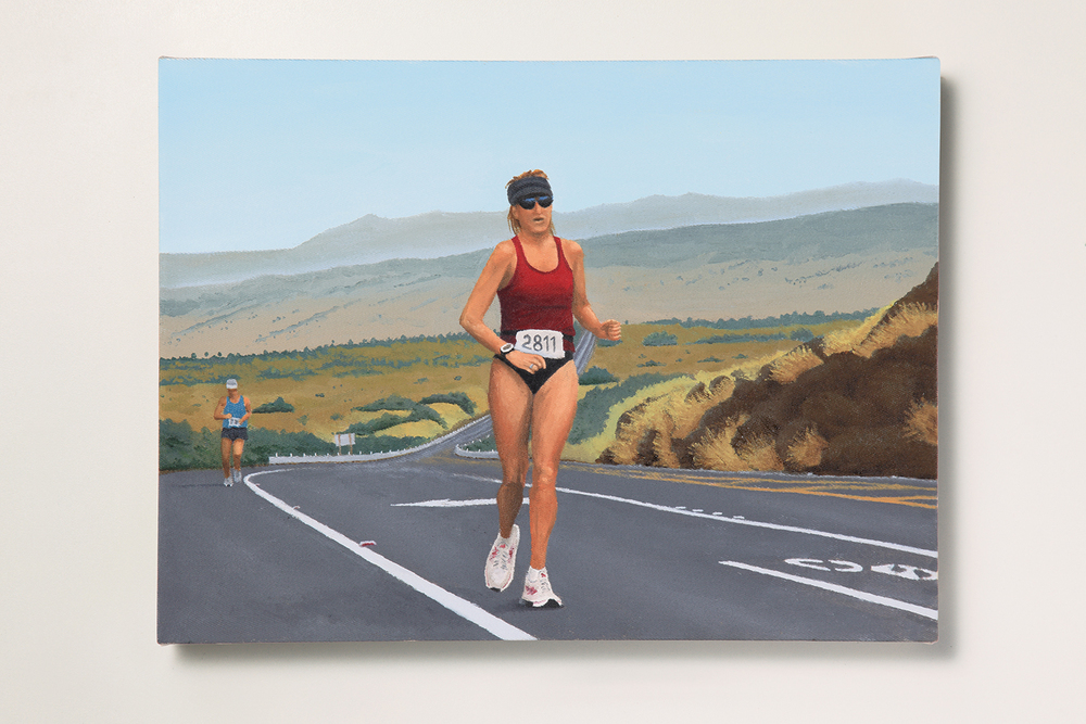 Search: Ericka // #20 // Running • 2009 • Oil on canvas • 11.8 x 15.7 in • MAM - São Paulo Museum of Modern Art Collection