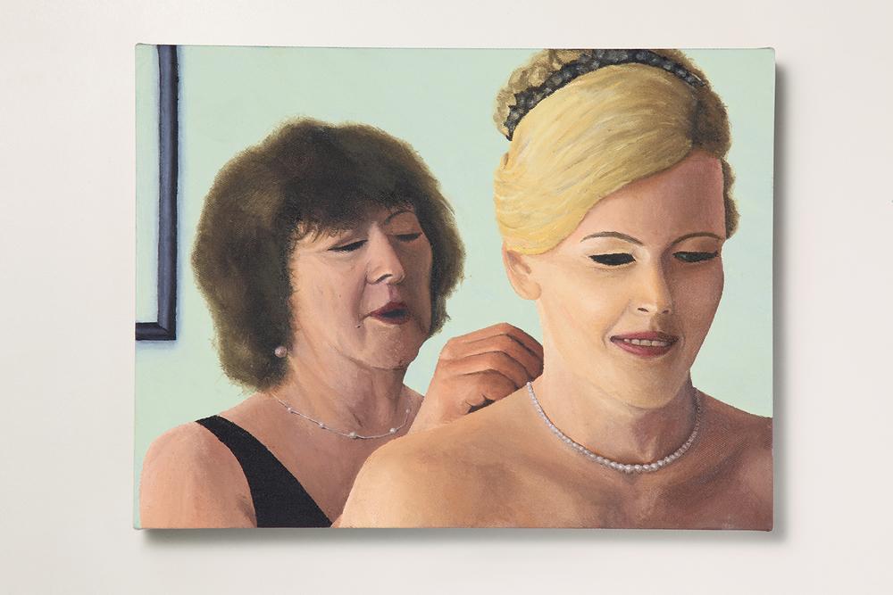 Search: Ericka // #23 // A Noiva• 2009 • Óleo sobre tela •30 x 40 cm •  Coleção MAM - Museu de Arte Moderna de São Paulo