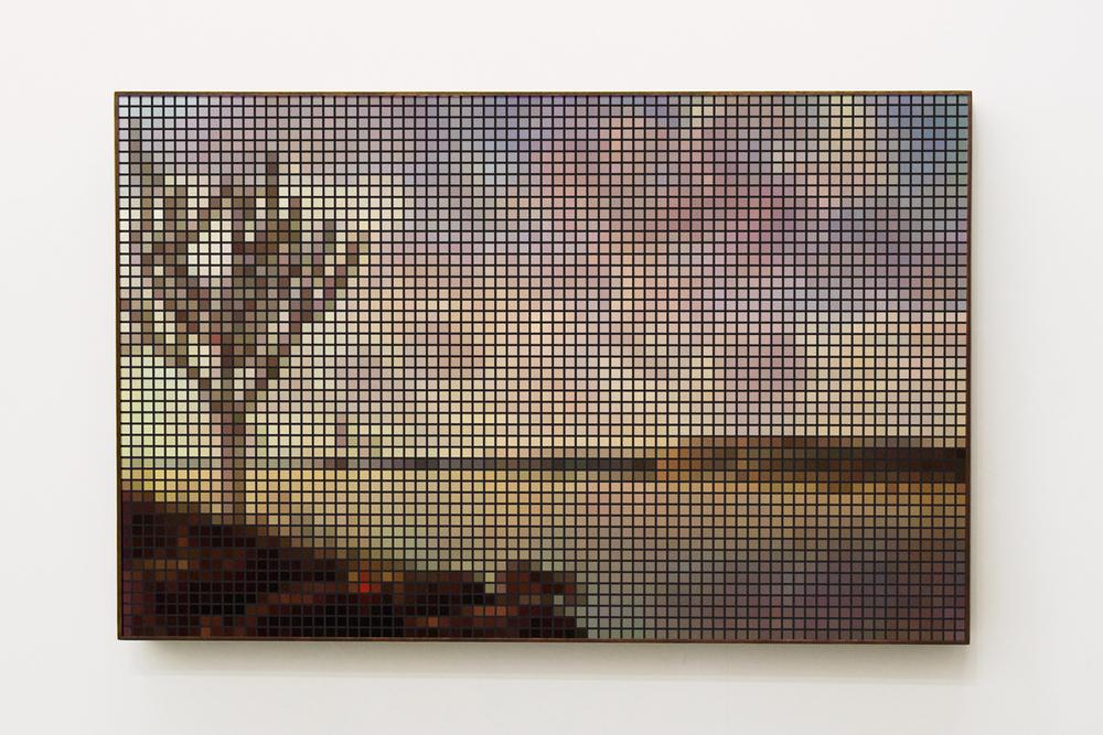Rio São Francisco (After Post) •2010 •Fotografia, impressão lenticular •65 x 100 cm