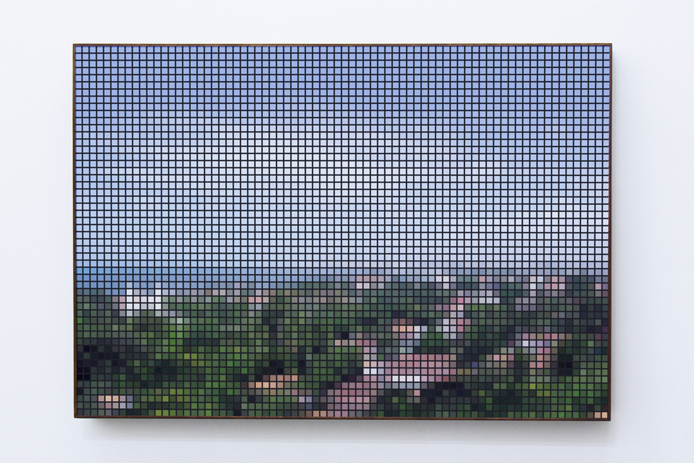 Olinda (After Post) • 2010 • Photograph, lenticular print • 27.7 x 39.3 in