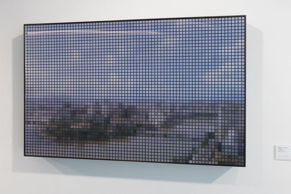 Recife (After Post) •2010 • Fotografia, impressão lenticular •62 x 100 cm