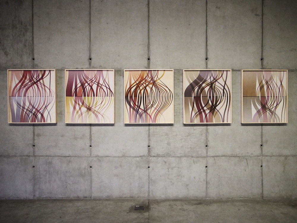 Tracks (Statistical Self-portraits series) • 2012 • Inkjet print on cotton paper + artist book • 27.6 x 25.6 in (each)