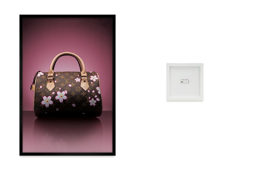 Louis Vuitton: R$ 110,00 (série O Que Te Seduz) •2004 •Fotografia, impressão digital, recibo de compra •120 x 80 cm, 30 x 30 cm (díptico)• Coleção MARP - Museu de Arte de Ribeirão Preto
