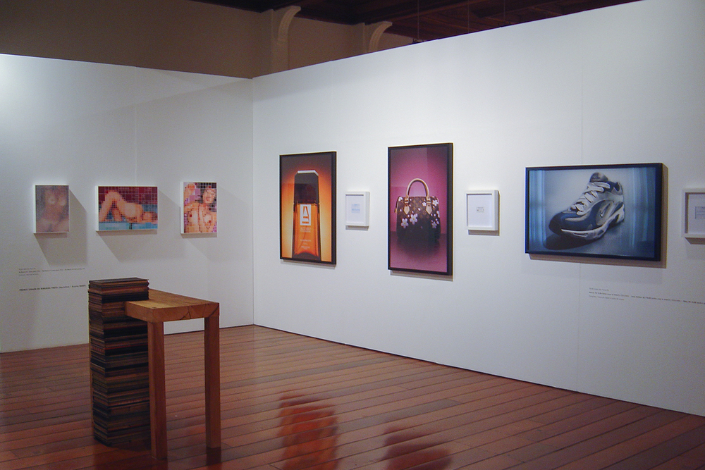 30th Ribeirão Preto Art Salon  group show at MARP – Ribeirão Preto Museum of Art, Ribeirão Preto, Brazil.   August 2005. Acquisition Prize.