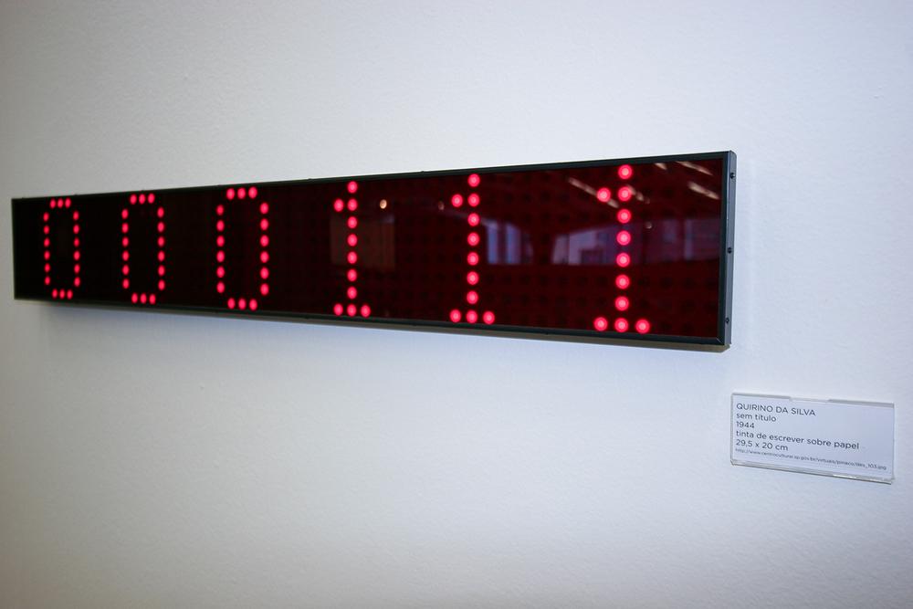 Individual no Programa de Exposições do Centro Cultural São Paulo, 2007. Trabalho exposto:  Acervo (2007).