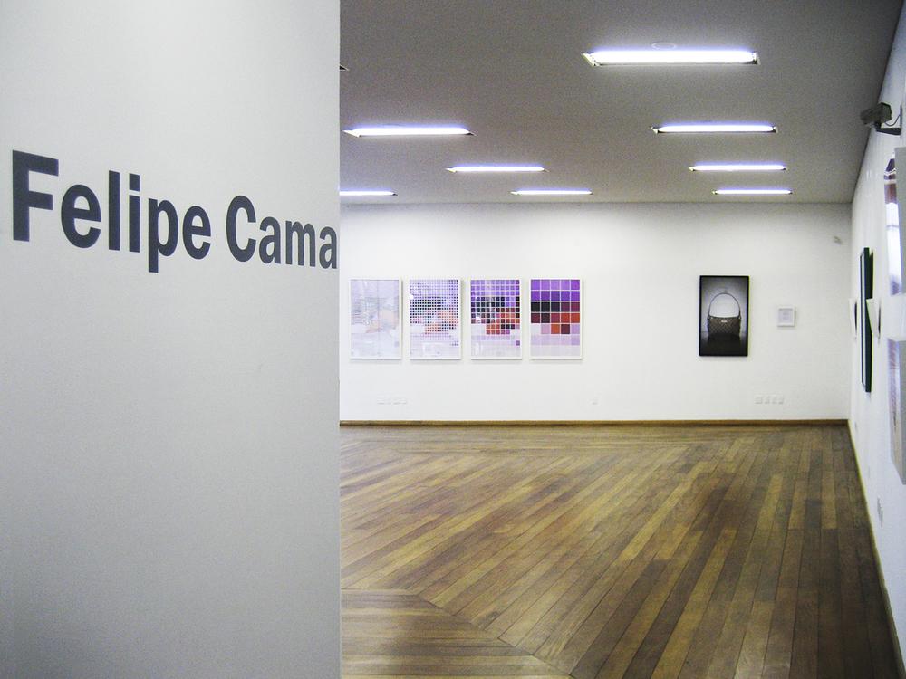 Individual no Museu de Arte de Blumenau, em 2006