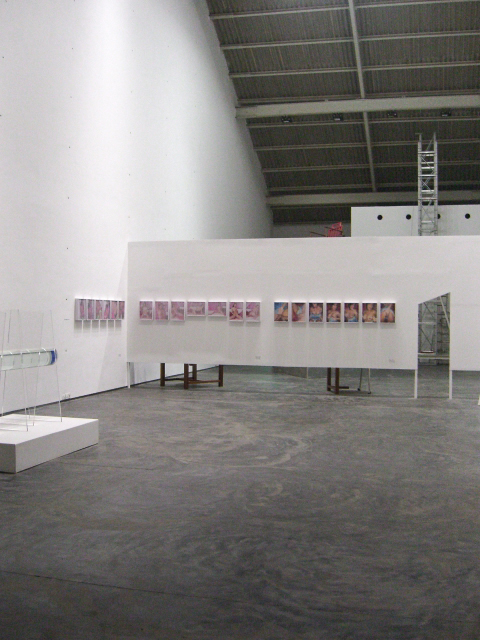 loosentiefirst   group show at   Gallery Maskara   in Mumbai, India, 2008.