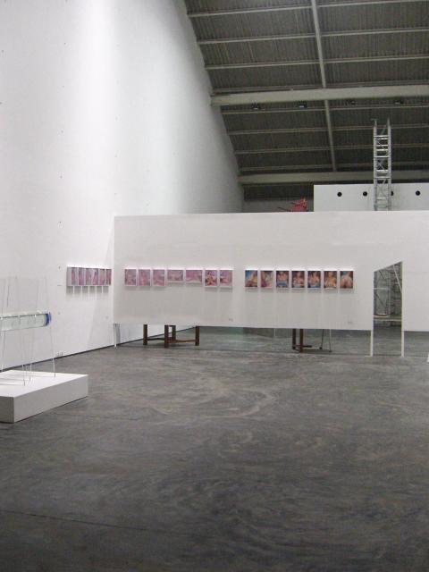 Exposição coletivaloosentiefirst,na Gallery Maskara, em Mumbai, India, 2008.