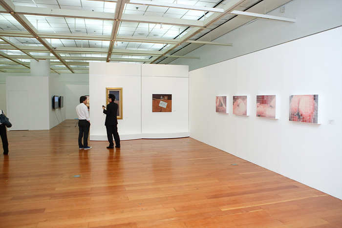 Coletiva na The Korea Foundation Cultural Center, em Seul, Coréia do Sul. Julho/agosto de 2009