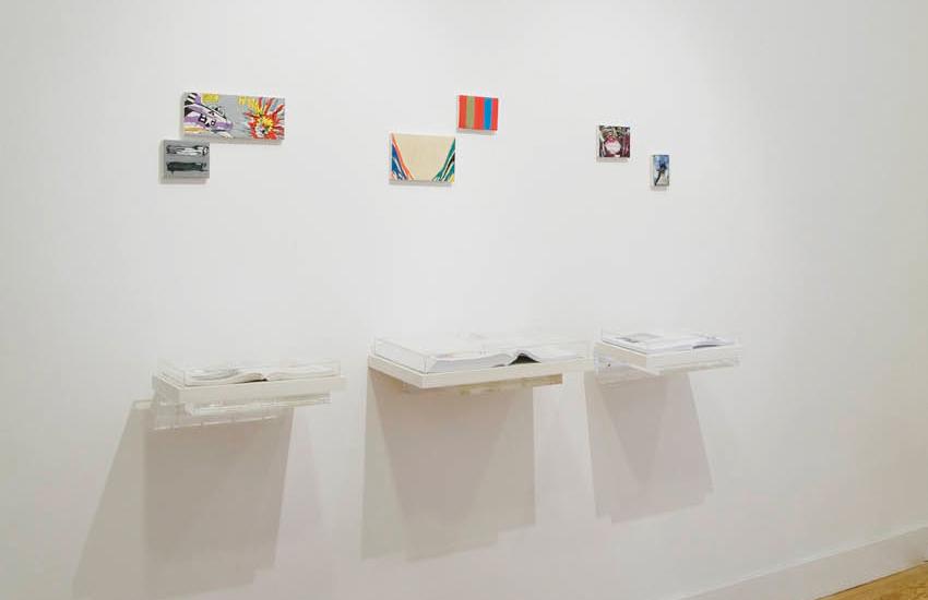 Coletiva com 14 artistas brasileiros contemporâneos na Galeria Fernando Pradilla, em Madrid, Espanha. Junho de 2009. Fotos: Ding Musa
