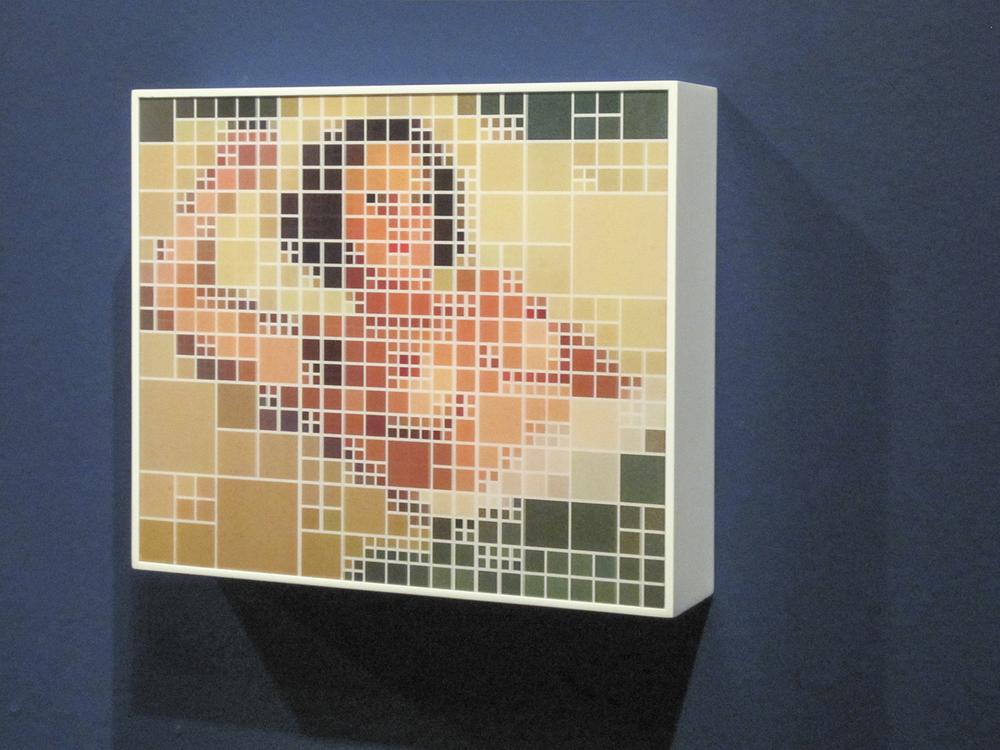 Gobbis x Elaine (2008) Museum of Modern Art - São Paulo collection.