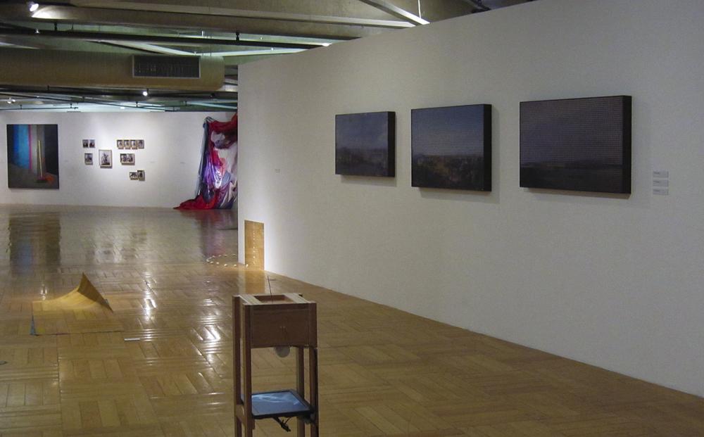 Exposição coletiva dos artistas do  Ateliê Fidalga no Paço das Artes  ,    em São Paulo, julho de 2010.  Organização Albano Afonso e Sandra Cinto.