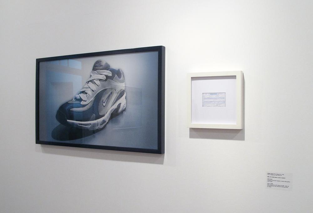MARP e o Corpo da Arte: exposição coletiva no MARP – Museu de Arte de Ribeirão Preto, agosto de 2011. Obra em exposição: Nike: R$ 35,00 (série O Que Te Seduz) (coleção MARP)