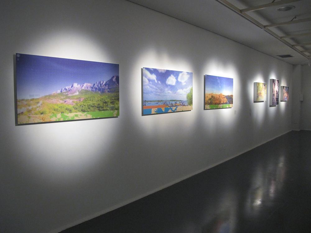 Solo show at SESC Ribeirão Preto, August 2011.