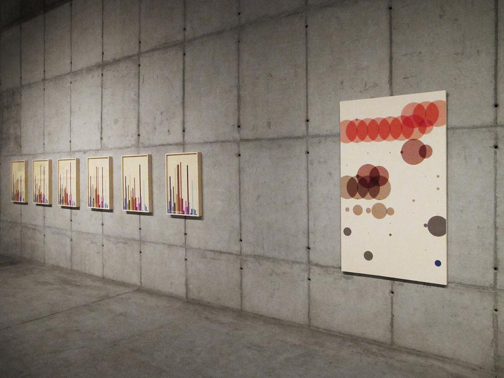Exposição  individual A   utorretratos Estatísticos  , na Galeria Leme. Outubro de 2012.