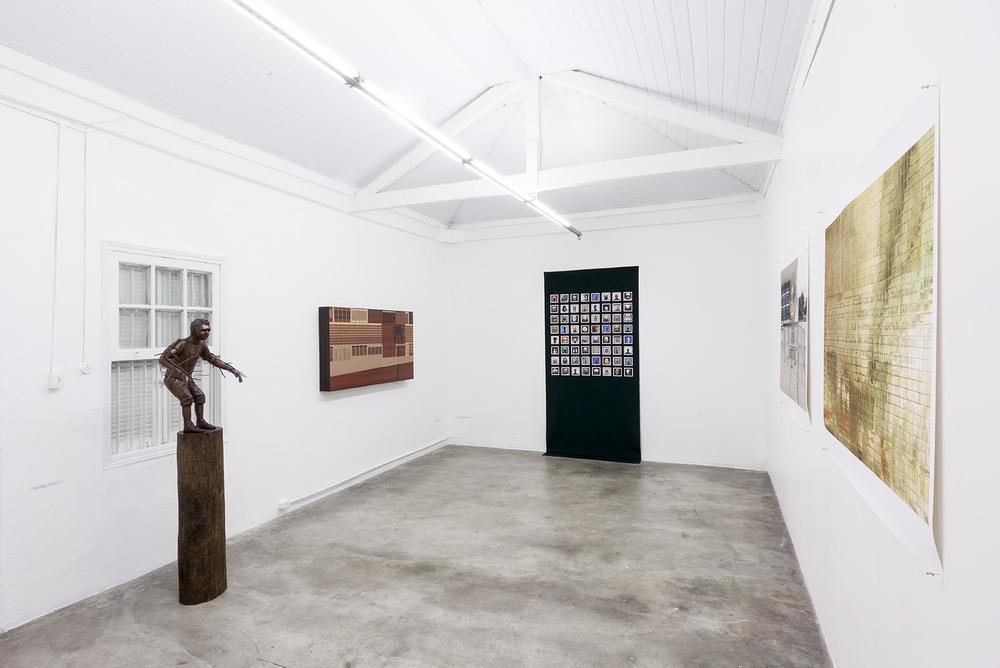Exposição coletiva 2 Anos de Projeto Fidalga •Sala de Exposição Projeto Fidalga • São Paulo • Setembro de 2014 •Foto: Ding Musa