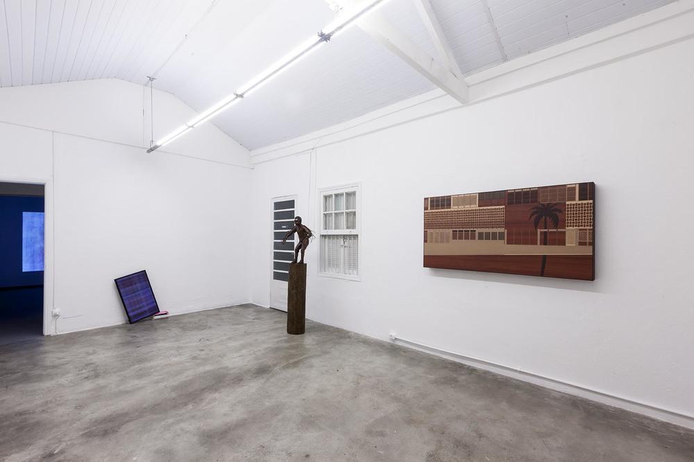 Exposição coletiva   2 Anos de Projeto Fidalga  •   Sala de Exposição Projeto Fidalga • São Paulo • Setembro de 2014 •Foto: Ding Musa