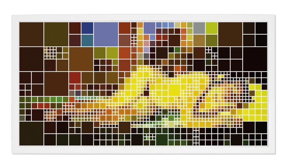 Nu (After Gauguin) #1 •2004-2005 •Fotografia, impressão digital •62x 124 cm