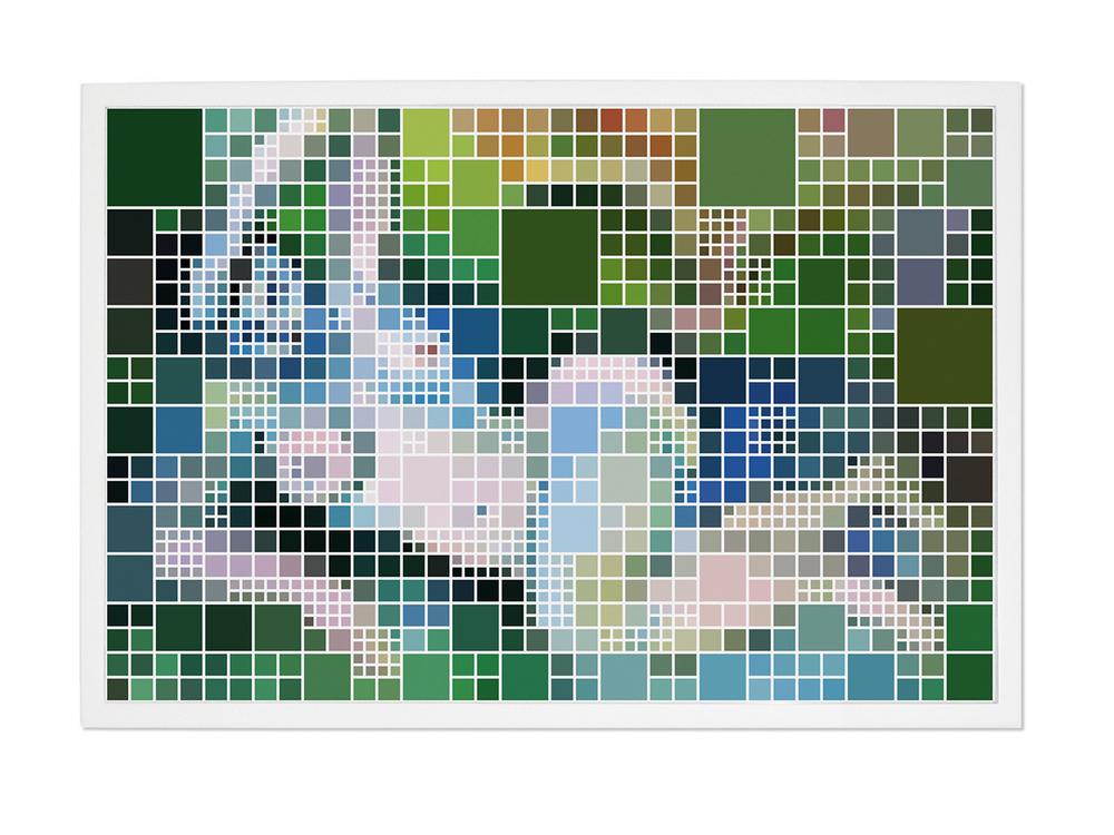 Nu (After Matisse) #1 •2004-2005 • Fotografia, impressão digital •83x 124 cm