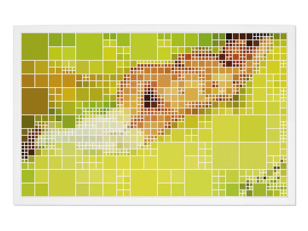 Nu (After Van Gogh) •2004-2005 • Fotografia, impressão digital •73x 118 cm