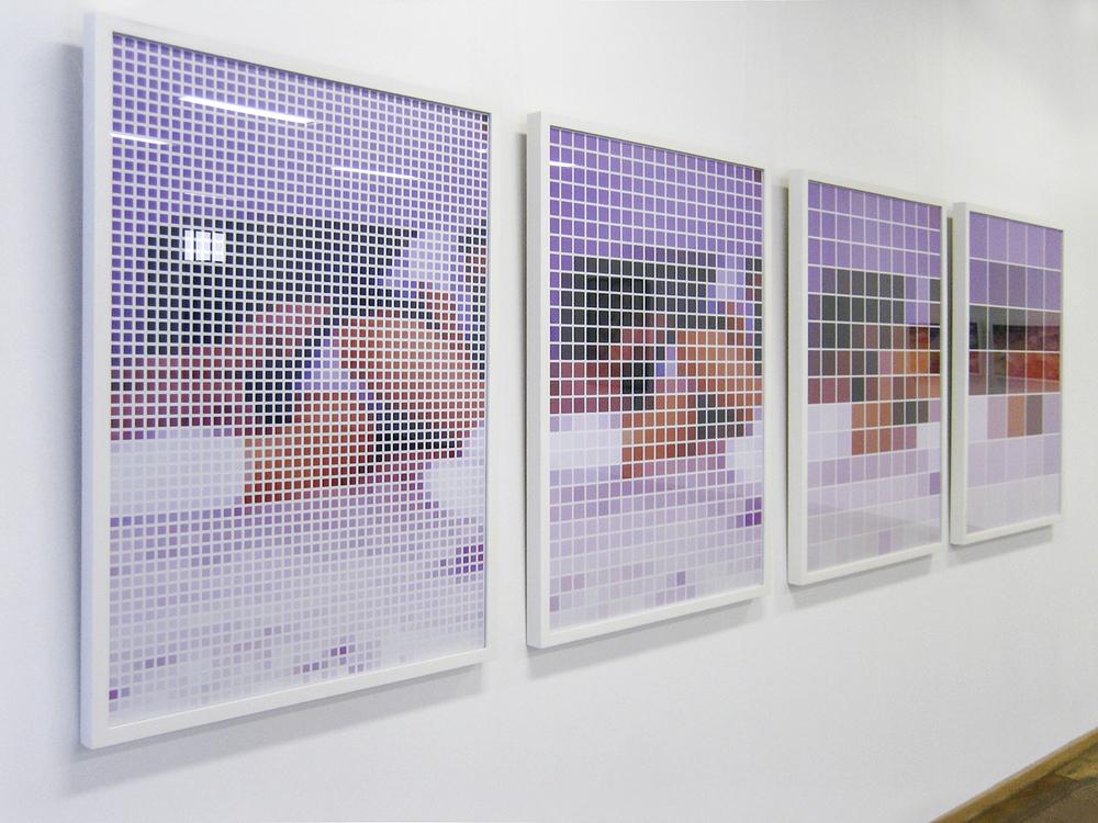 Rumo à Abstração •2002/2004 • Fotografia, impressão digital • 88 x 122 cm (cada)