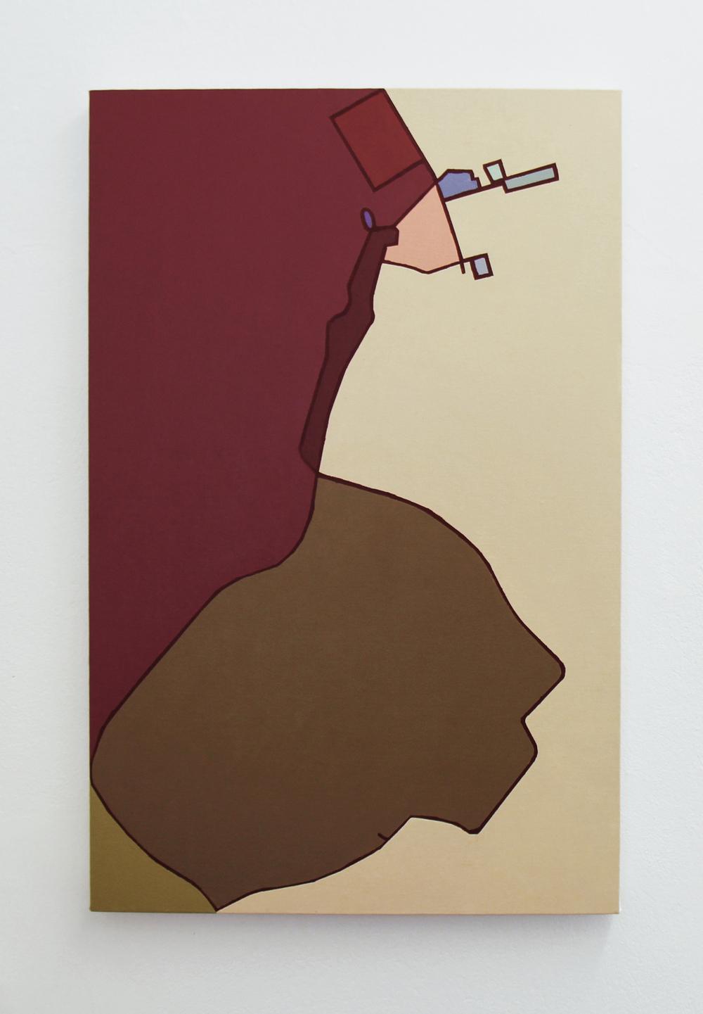 17082013 •2013 •Acrílica sobre tela •80 x 60 cm