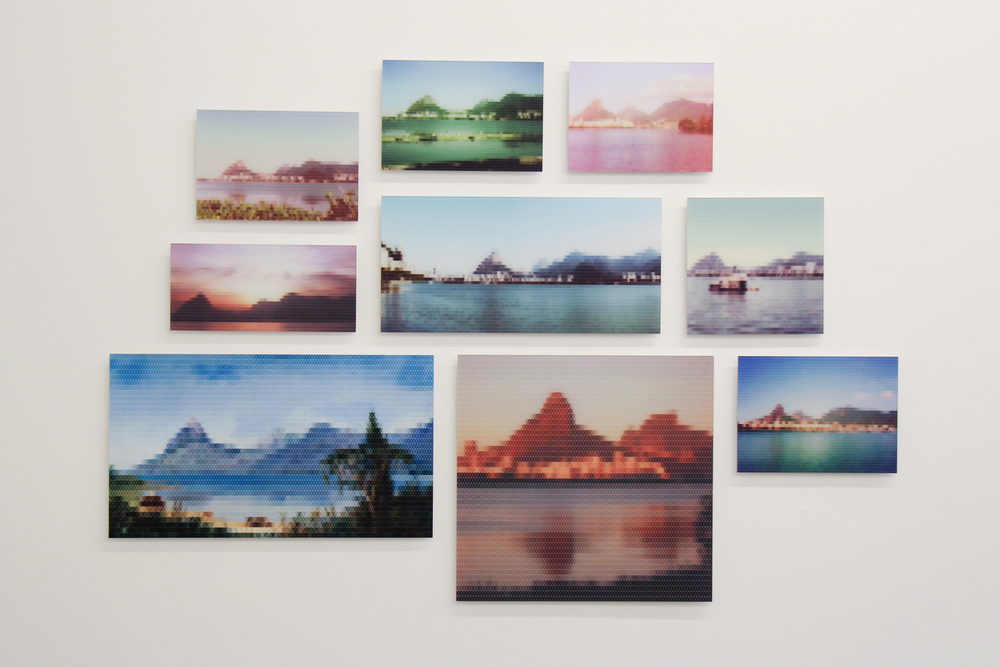Lagoa de Freitas, Near Rio • 2010/2015 • Print on methacrylate and print on cotton paper • Dimensions variable