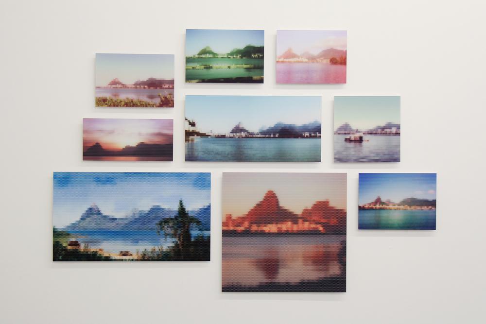 Lagoa Rodrigo de Freitas, Perto do Rio•2010/2015 • Impressão em metacrilato e impressão em papel algodão • Dimensões variáveis