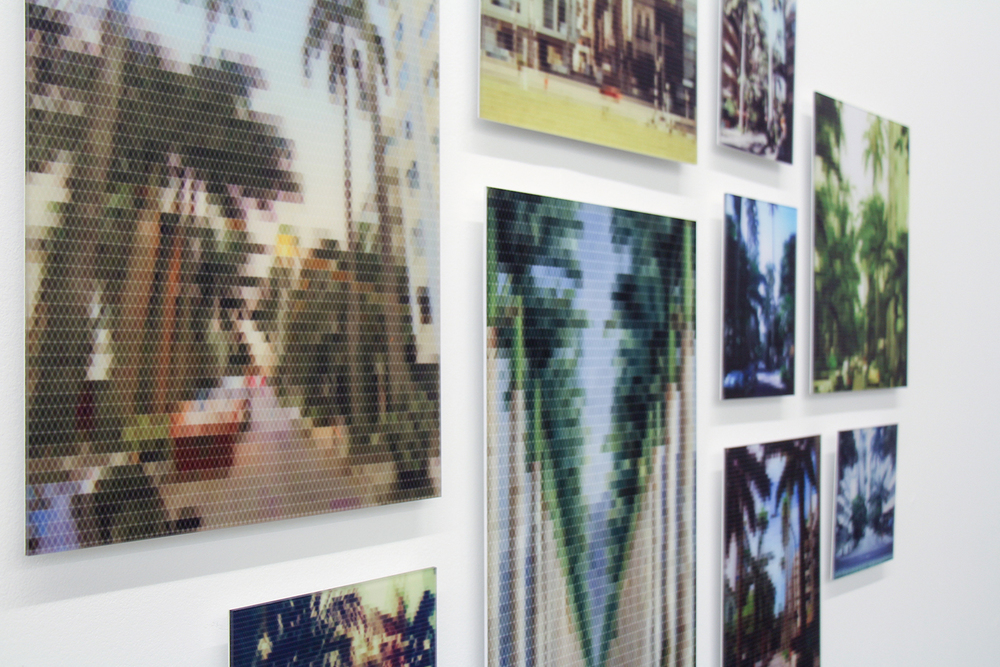Avenue of Royal Palms (Paissandu Street) (detail) • 2010/2015 • Print on methacrylate and print on cotton paper • Dimensions variable