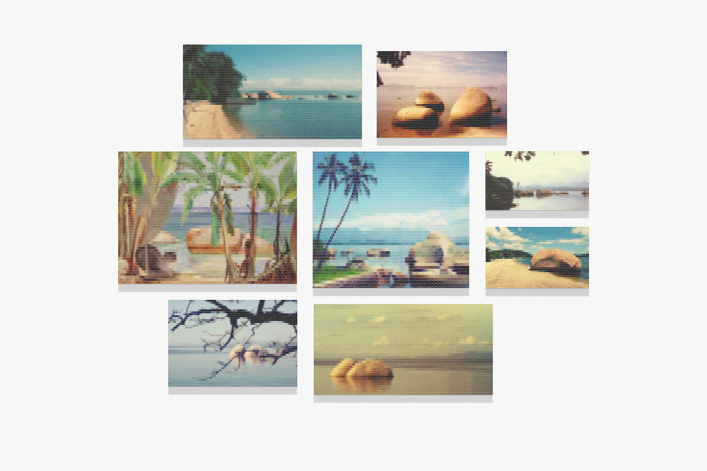 Ilha de Paquetá•2010/2015 • Impressão em metacrilato e impressão em papel algodão • Dimensões variáveis