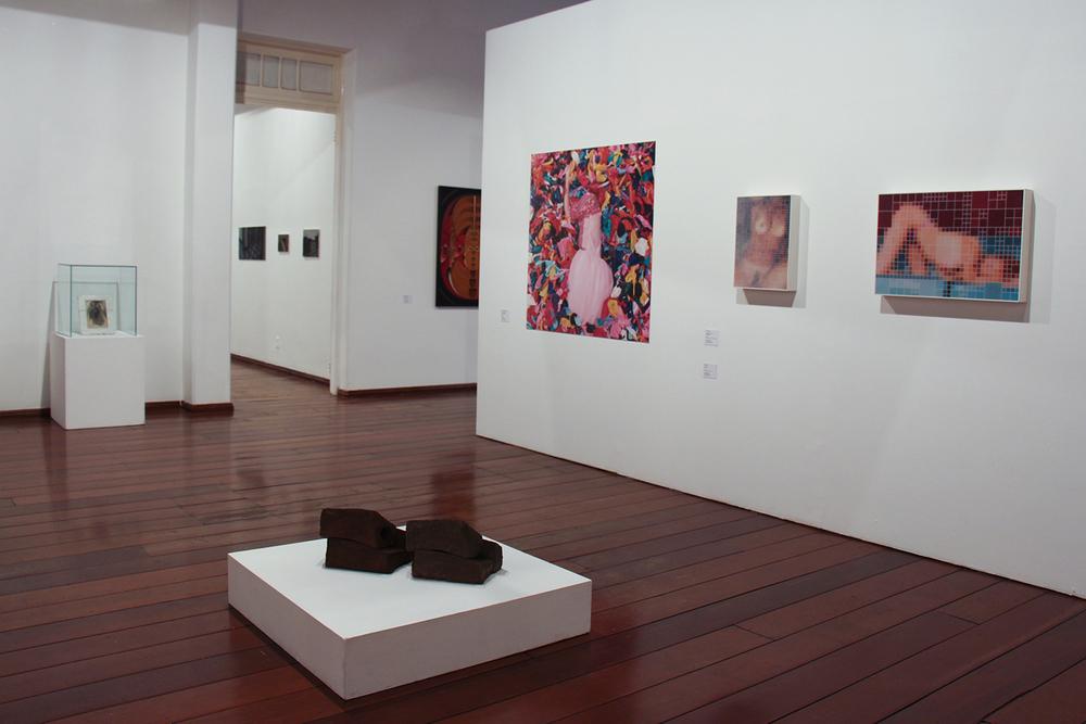Vista geral da coletiva SARP 40 Anos - Obras do Acervo MARP•Museu de Arte de Ribeirão Preto • Novembro de 2015