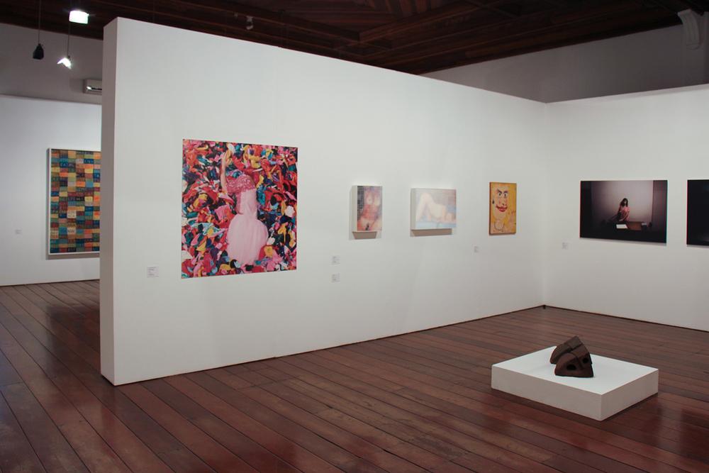 Vista geral da coletiva SARP 40 Anos - Obras do Acervo MARP •Museu de Arte de Ribeirão Preto • Novembro de 2015