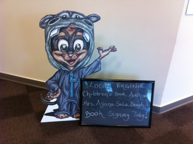Loopiethotamus at Book Signing at Salem Church Library 32412