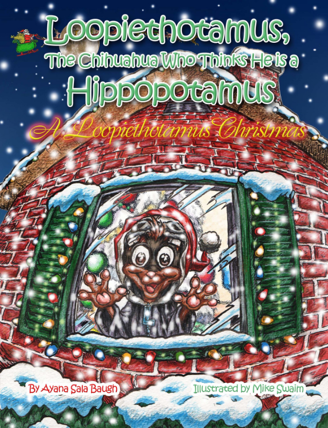 """A Loopiethotamus Christmas"" tells the story of how happy and excited the main character Loopiethotamus is about his favorite holiday. The story line expresses the joys of Christmas, sharing and the appreciation of a loving family. The beautifully illustrated art work will get your children ready for the holiday season and create a desire to have the story read over and over again. Anyone who reads ""A Loopiethotamus Christmas"" will smile from ear to ear with pure delight!"