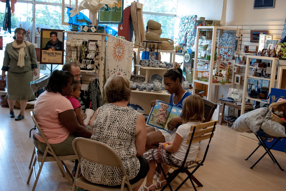 Ten Thousand Villages Book Signing 6.jpg