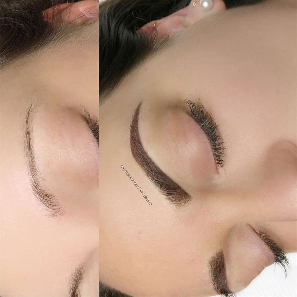 OMBRE SHADING - BROWS WILL LIGHTEN AND HEAL SOFTER AND NATURAL